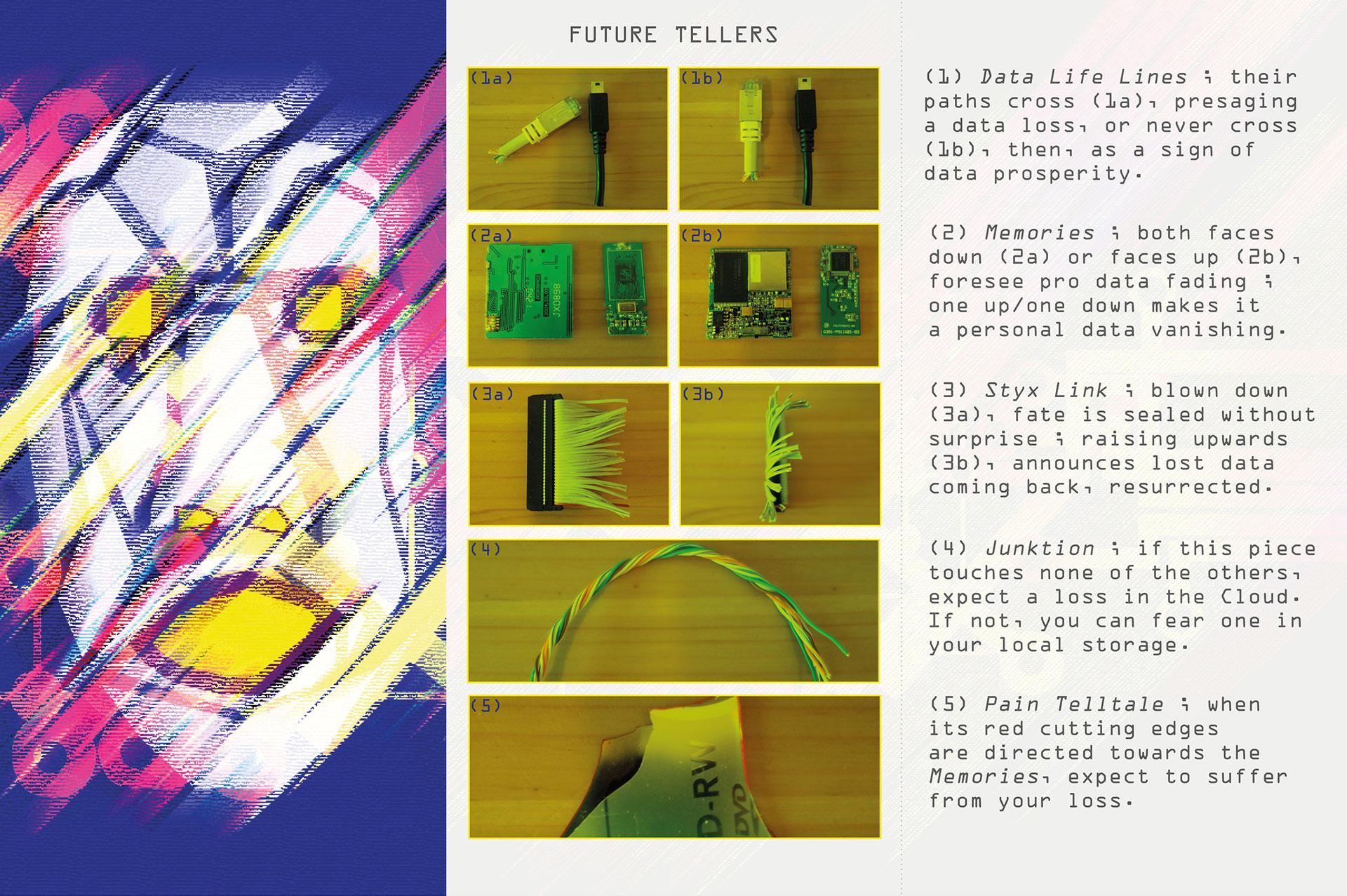 Maraboot kit: presentation of the future tellers